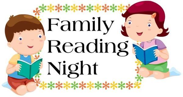 family reading night capestyle magazine online rh capestylemag com Math and Literacy Night Clip Art Parents Night Out Clip Art