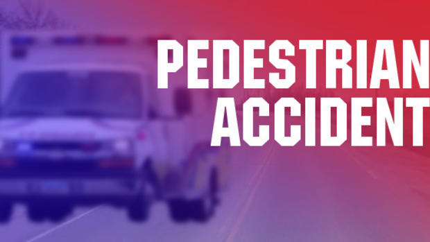 Pedestrian Seriously Injured in Traffic Crash
