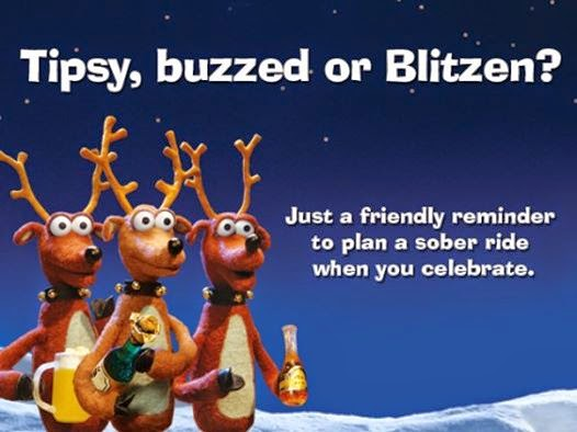 """""""Drive Sober or Get Pulled Over"""" Holiday Campaign Running through Jan 1st"""