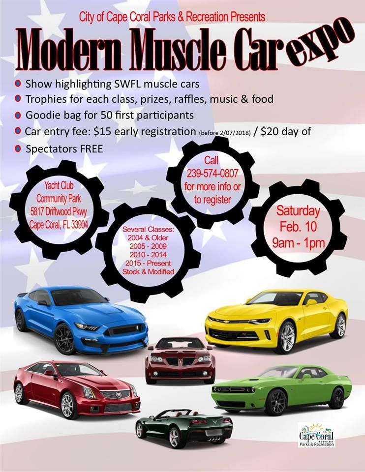 Parks & Rec modern muscle car expo Feb 18 - CapeStyle Magazine Online