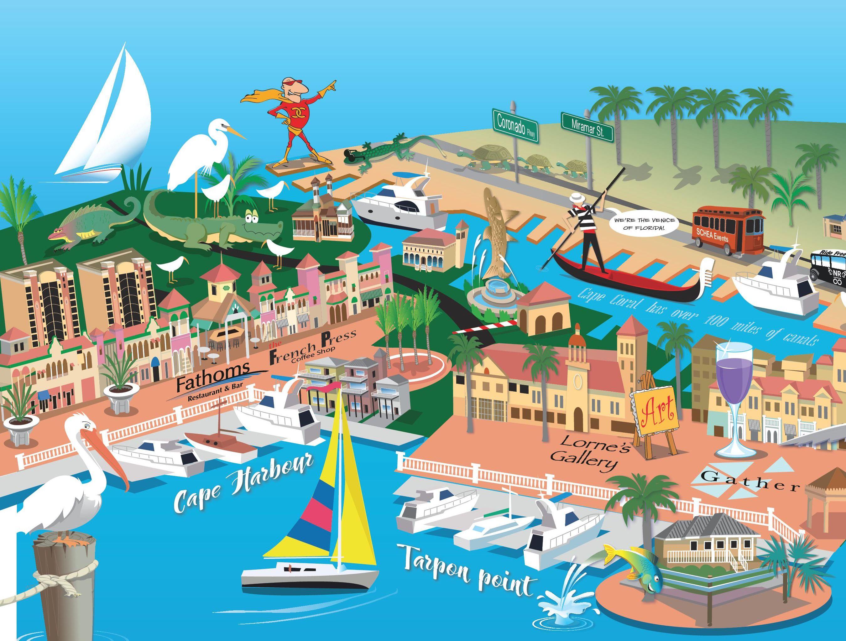 CapeScape: Cape Coral's Newest & Fun-est  Business-Boosting Tradition…