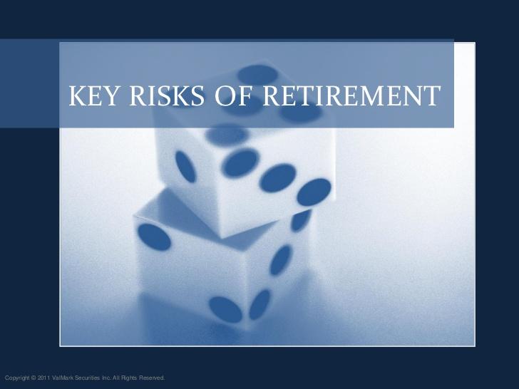 Understanding the Key Risks in Retirement, Part I