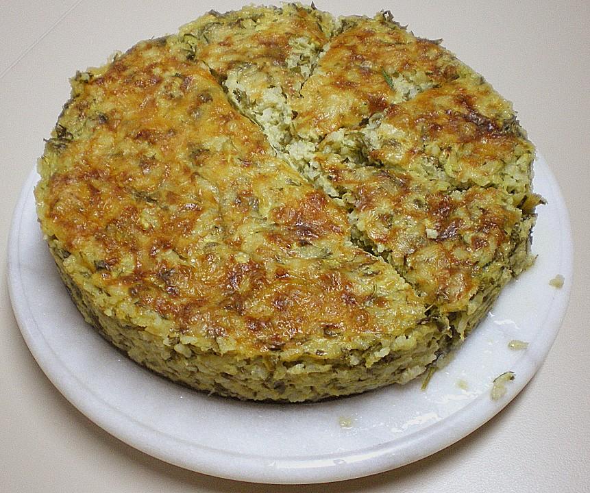 Zucchini Spring/Summer Torte