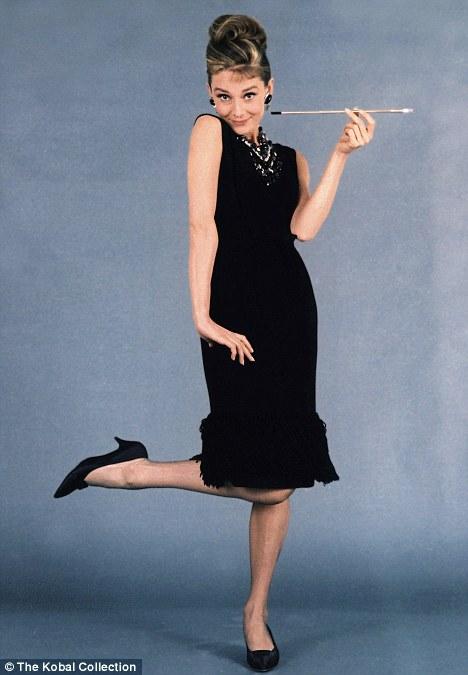 Little Black Dress Audrey Hepburn Capestyle Magazine Online