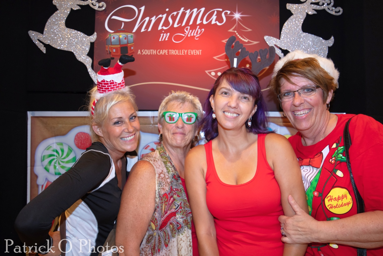 South Cape Christmas in July Trolley Photo Recap