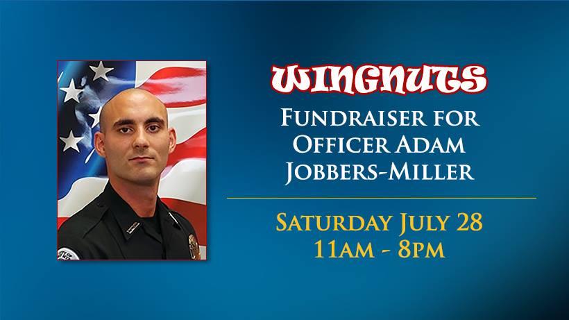 Fundraiser for Officer Adam Jobbers-Miller