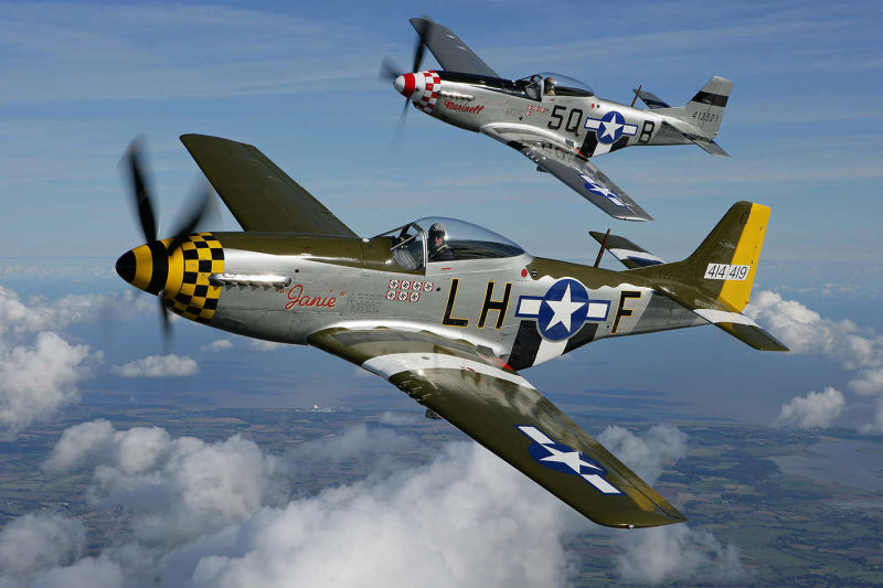 Warbirds & Turbine Jets Over Paradise