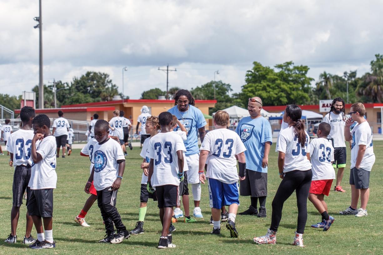 Tre Boston Beyond Belief Foundation Football Camp Photo Re-cap