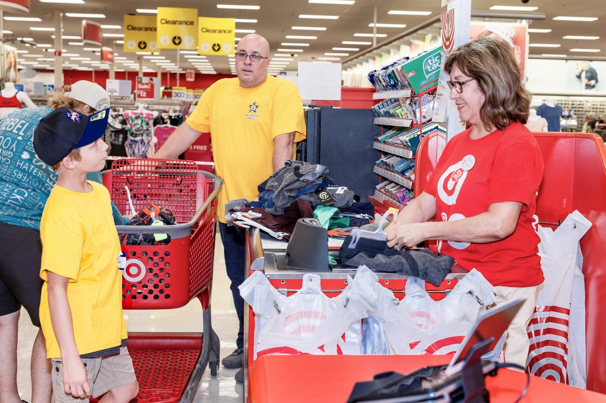 Local students treated to free back-to-school shopping