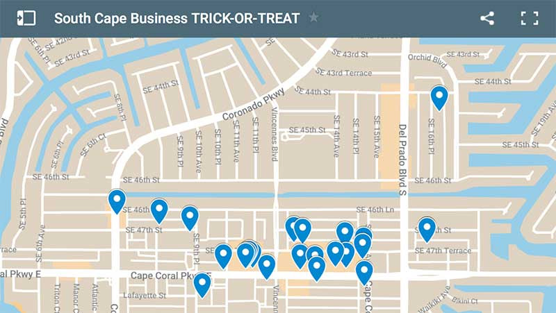 South Cape Business Trick-or-Treat Event This Saturday