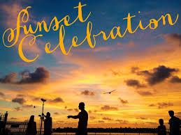 Sunset Celebration at the Yacht Club
