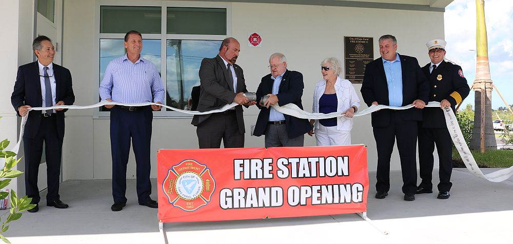 Cape Coral Fire Station 11 Grand Opening