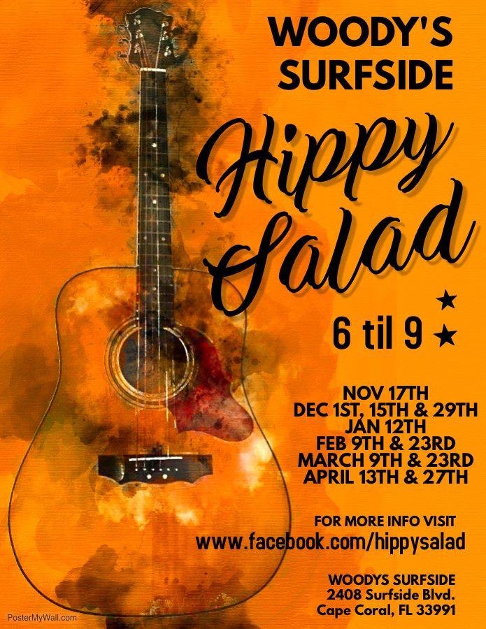 Hippy Salad Trio @ Woody's SurfSide