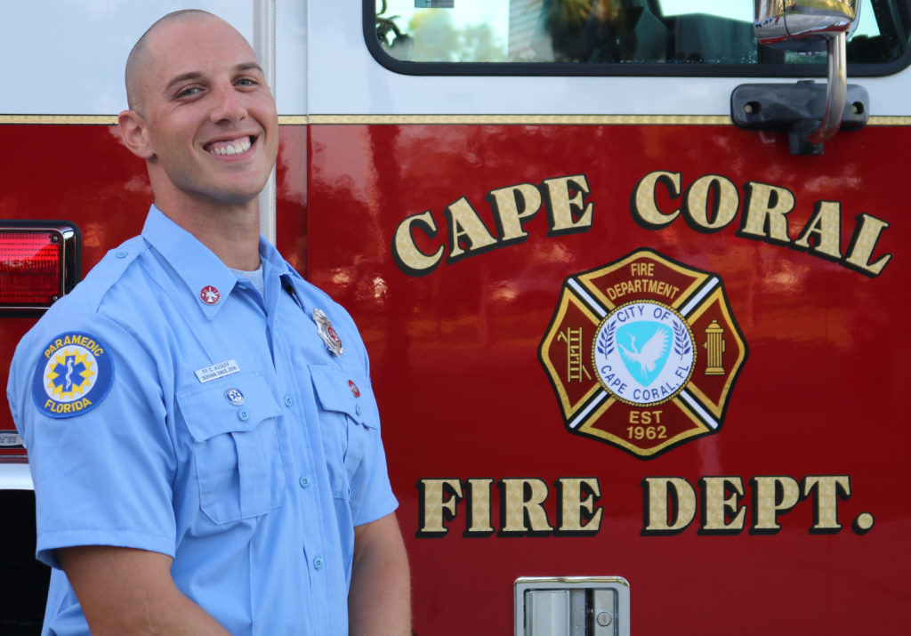 CAPE CORAL FIREFIGHTER PASSING