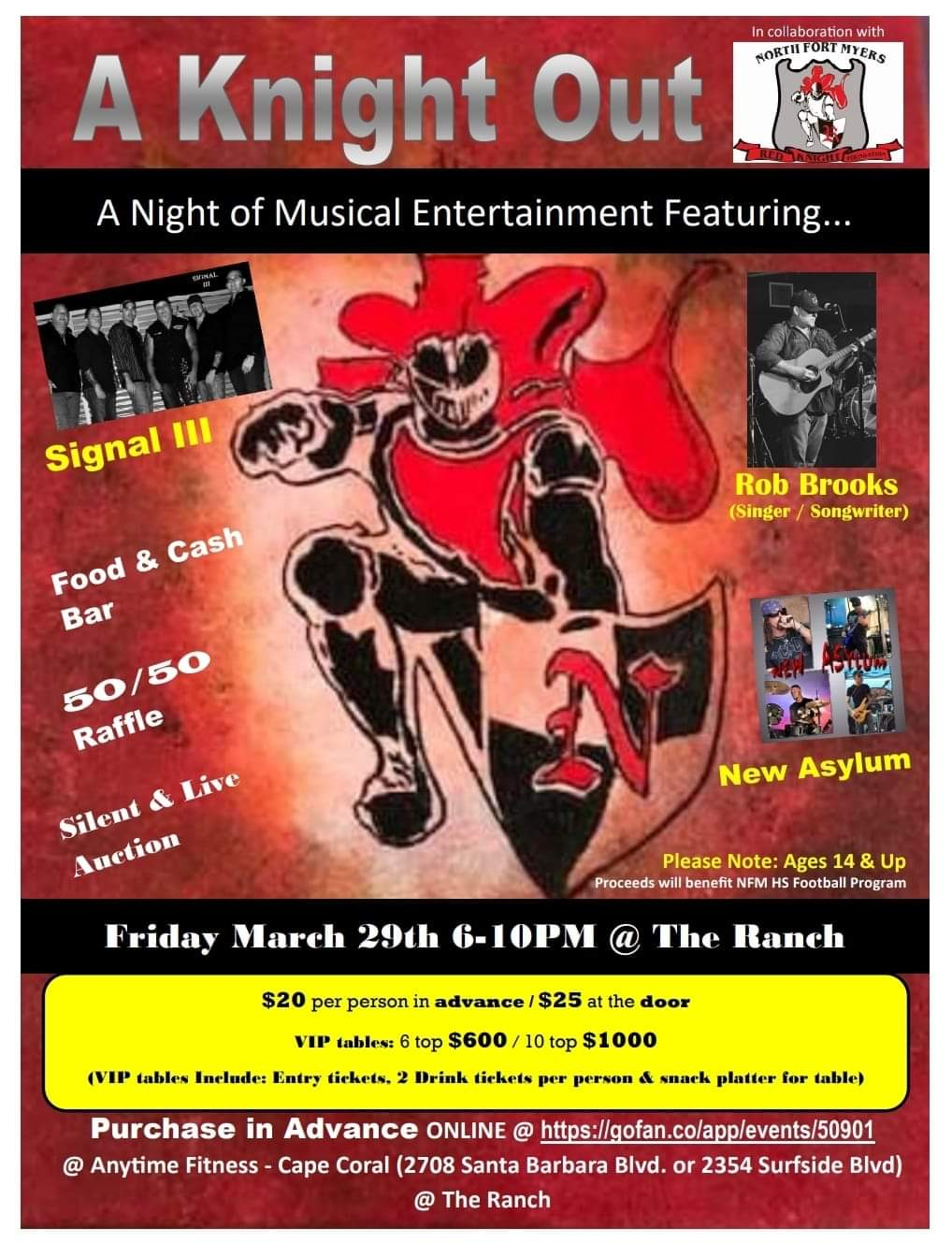 Signal III Charity Performance set for March 29th at The Ranch in Fort Myers