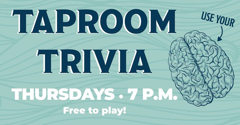 Taproom Trivia @ Big Storm
