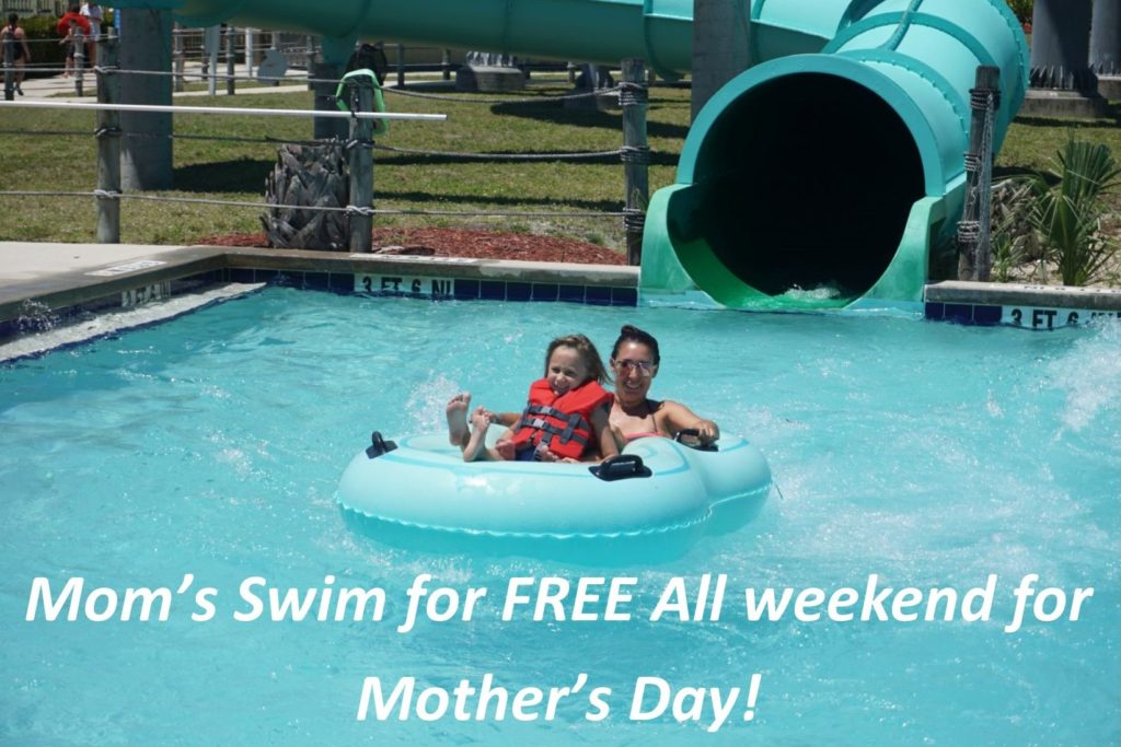 Sun Splash Offers Free Admission to Moms during Mother's Day Weekend
