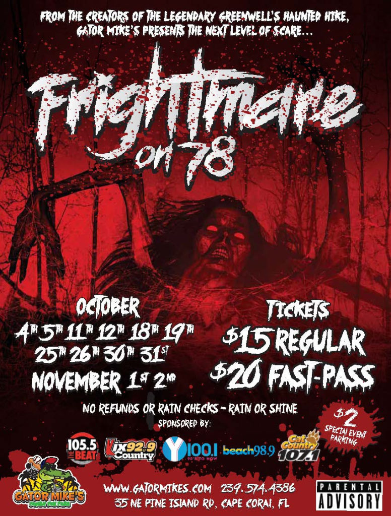 Frightmare on 78 opens this weekend