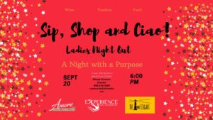 Sip, Shop & Ciao Ladies Night Out