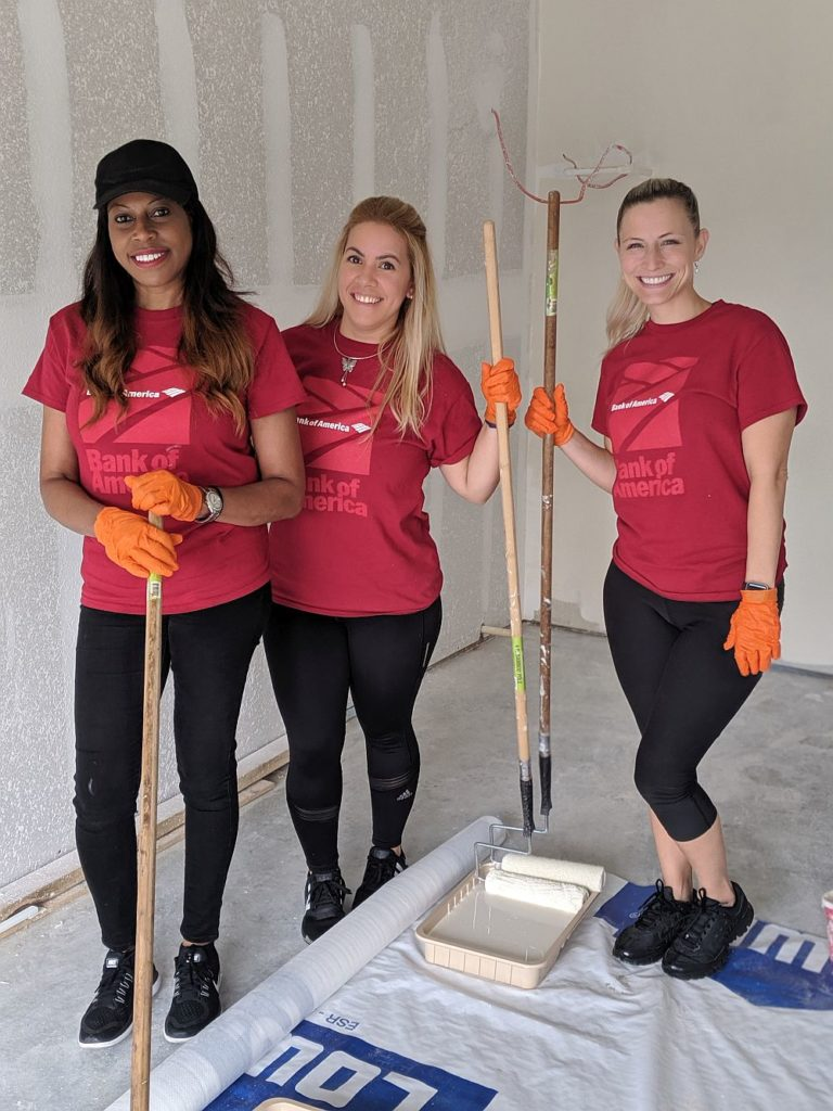 Bank of America partners with Habitat for Global Build 2019