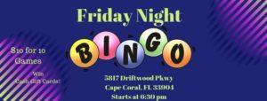 Friday Night Bingo @ Tony Rotino Center