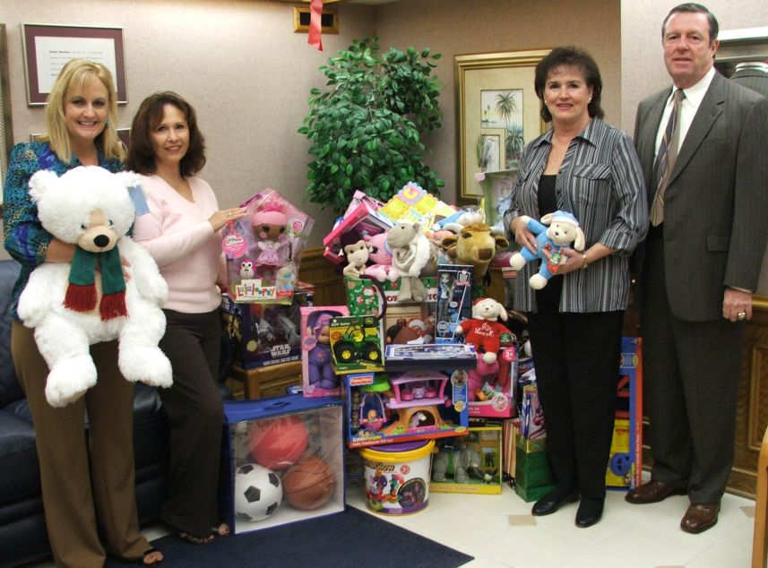 Goldstein, Buckley, Cechman, Rice & Purtz, P.A. collects toys for Toys for Tots