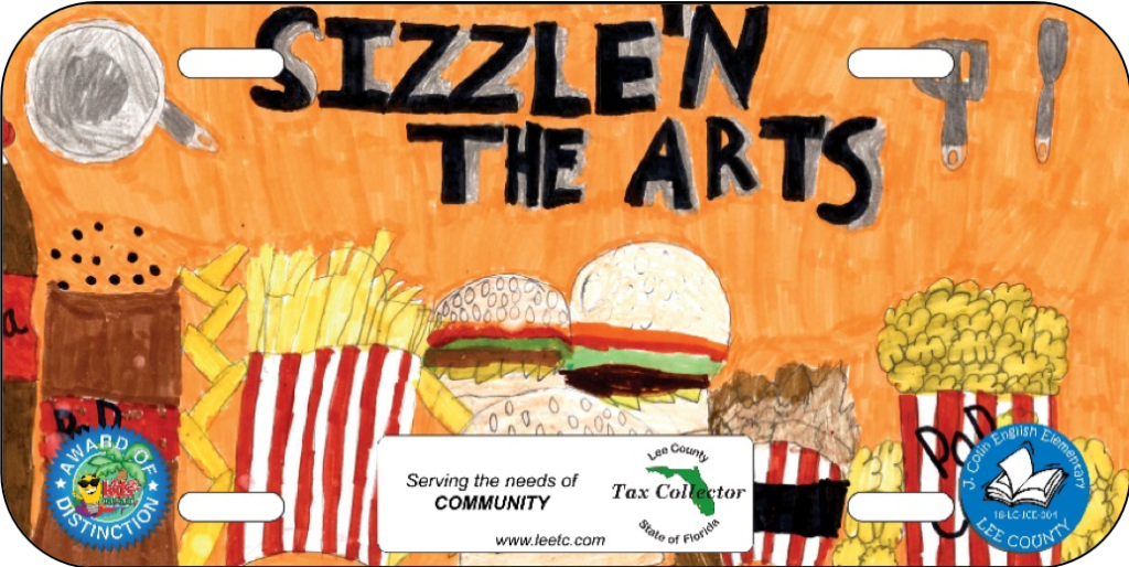 Tax Collector's Office honors fifth-grade art students