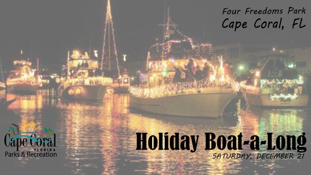 5 Things To Do This Weekend in Cape Coral (Dec 20 - 22)