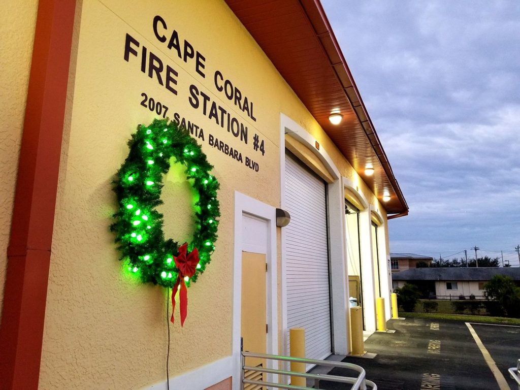Keep the Wreath Green Fire Safety Campaign