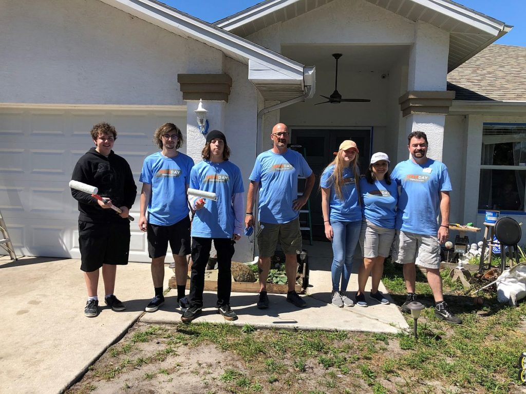 Lee BIA Builders Care clients benefit from Cape Christian's Serve Day Weekend