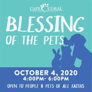 1st Annual Blessing of the Pets