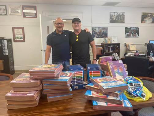 Thousands of Supplies Collected for Teachers and Students through Supply Drive