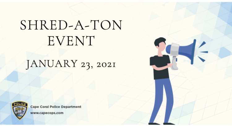 Shred A Ton Event This Saturday