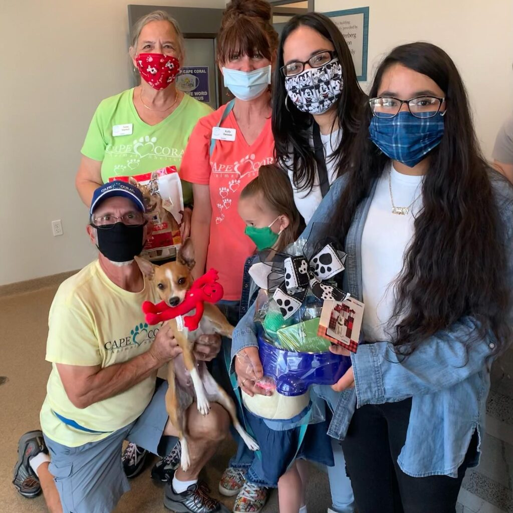 Cape Coral Animal Shelter Hits 1,000 Adoptions!