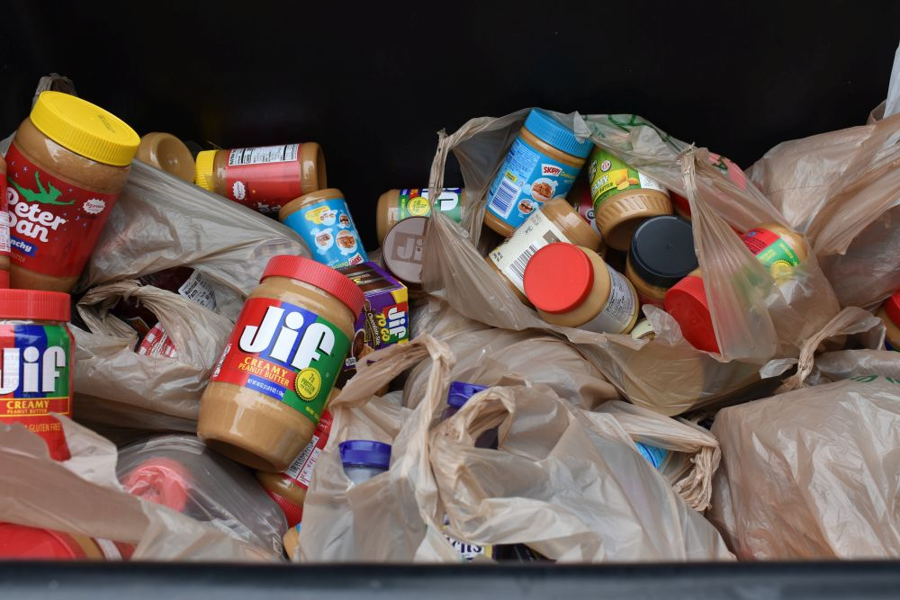 Community Cooperative food drive collects over 4 tons of PB&J supplies