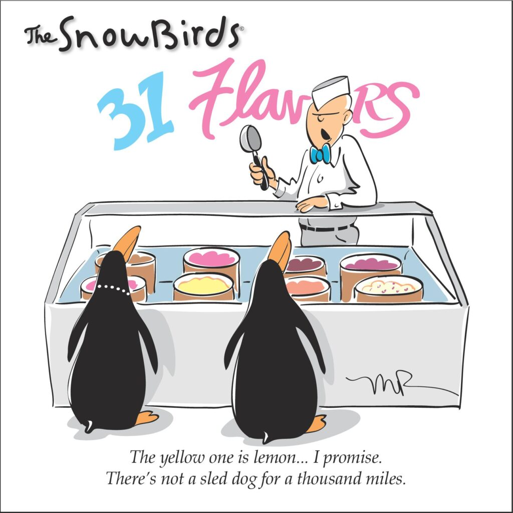 The Snowbirds....31 Flavors