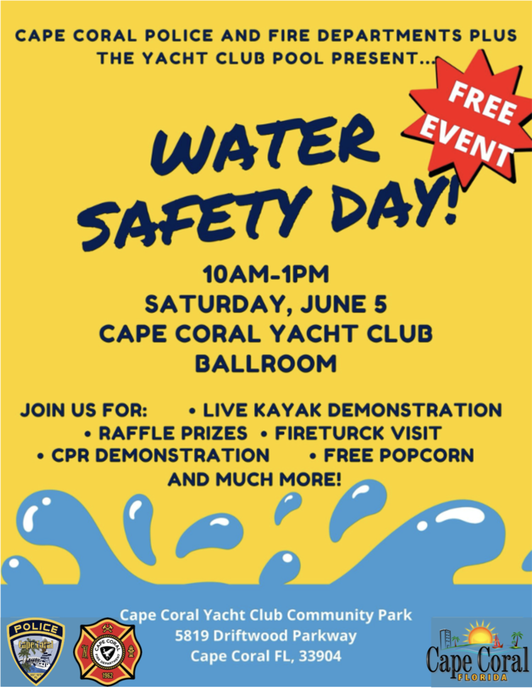 8th Annual Water Safety Day Event