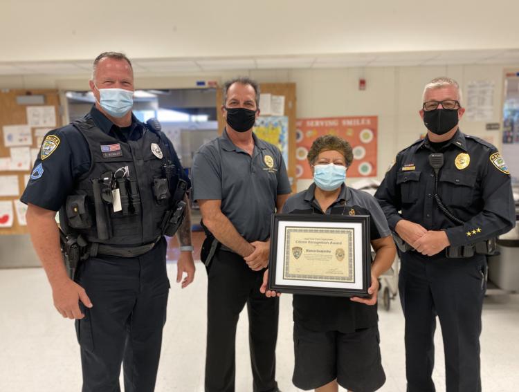Cape Elementary Kitchen Staff Employee Receives Citizen Recognition Award