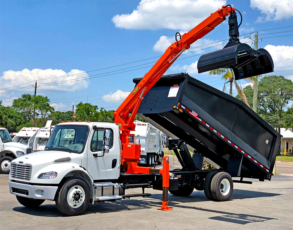 CAPE CORAL LOOKS TO BUY SECOND GRAPPLE TRUCK TO HELP PICK UP YARD WASTE